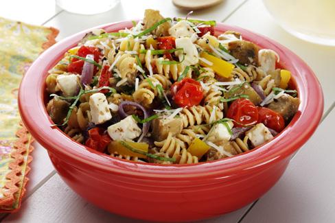 Roasted Eggplant Caprese Salad Recipe