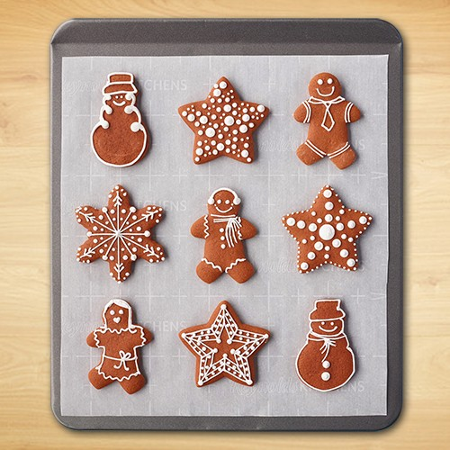 Gingerbread Man Cookies With Decorative Icing Reynolds Kitchens