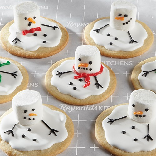 Melted Snowman Sugar Cookies Reynolds Kitchens