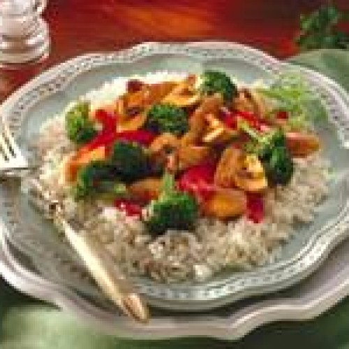 Ginger Chicken & Vegetable Packets